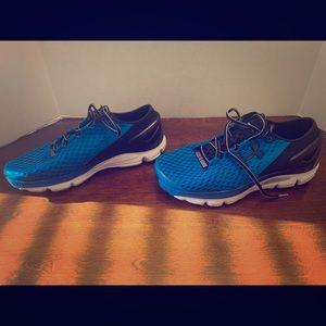 Men's Speedform Gemini 2 Blue Size 10.5 Shoes